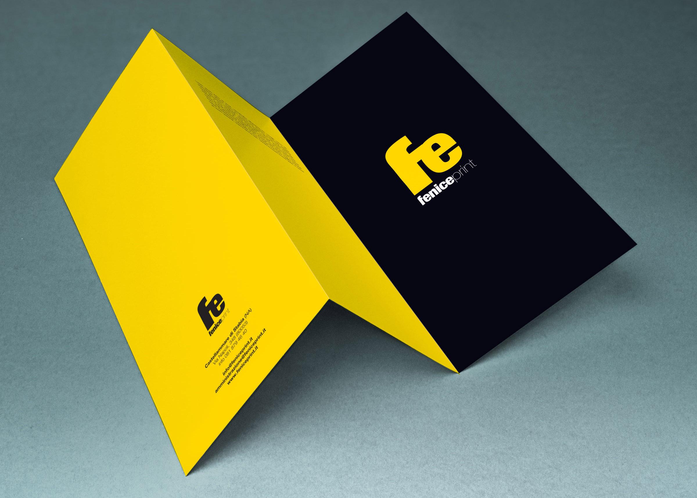 fenice print stampa brochure nei formati a4 e a3